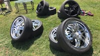 Rims 22s and 20s Hollister, 95023