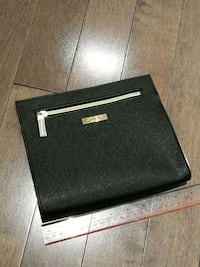 Shiseido Cosmetic Bag in Black and Gold Colour 558 km