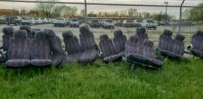 Shuttle bus seats