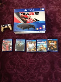 PS4 1tb combo w 2 controllers and 5 games Toronto, M5V 2Y3