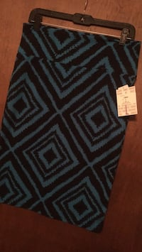 Black and teal chevron LuLaRue Cassie Omaha, 68138