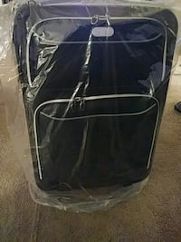 black and gray travel luggage Greater Landover, 20785
