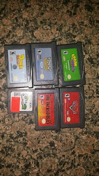 four assorted Nintendo DS game cartridges Dallas, 97338