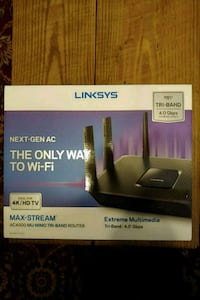 Linksys Router (only used 6 months) Conroe, 77303