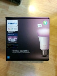 Phillips hue white and color ambiance 4 bulb color McLean, 22102