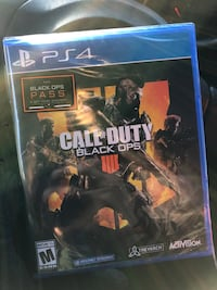 Ps4 call of duty black ops 3 game case Denton, 76201
