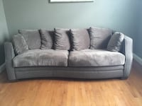 3 seater chocolate brown sofa Ashburn, 20148