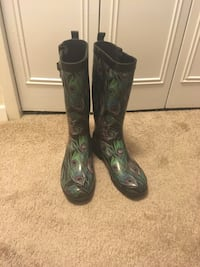 Feather rain boots- Capelli Silver Spring, 20910