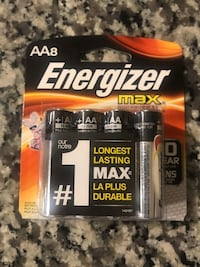 Energizer Max AA Batteries, 8 pack Odenton, 21113