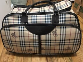 Burberry Print Suitcase