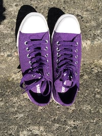 Purple Converse Sneakers North Vancouver, V7H