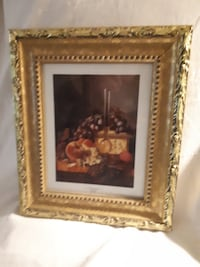 Elegant picture. Wood frame. Glass protected Coquitlam