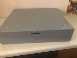 Steel cash drawer with push button