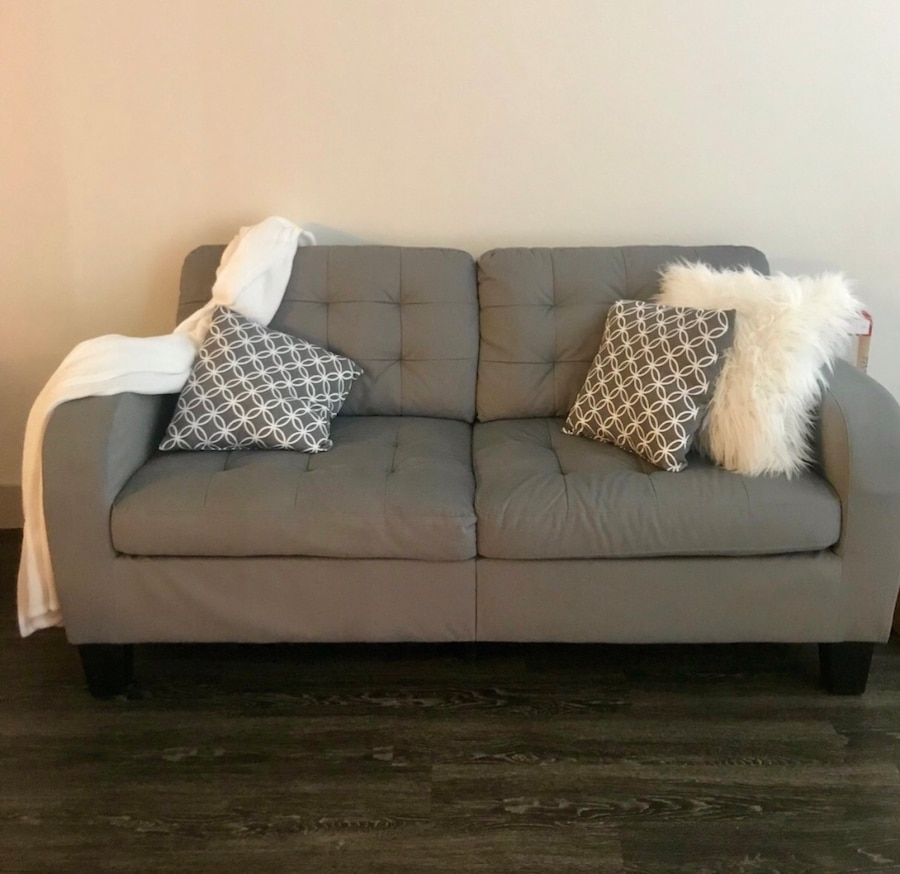 Used Sofa / Couch With Pillows In Richardson   Letgo