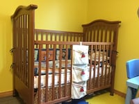 Baby bed with mattress and cover and musical instrument Laval, H7G 6C9