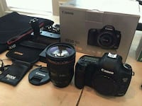 black Canon DSLR camera with lens Florida