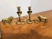 4 brass items all for $8 Victoria, V9A 6A6