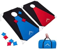 Himal Portable PVC Framed Cornhole Game With 8 Bean Bags & Bag North Charleston, 29405