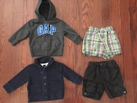 Baby gap boy lot 12-18 mos all NWT only $15 each  Toronto, M9P 1P7