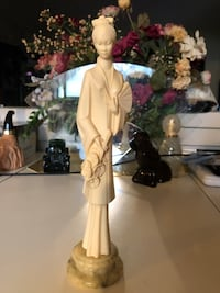 Japanese Statue with Marble Base  West Palm Beach, 33417