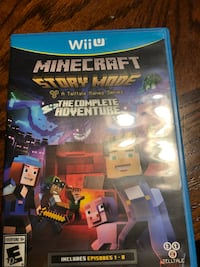 PS4 Minecraft Story Mode game case Elkview, 25071
