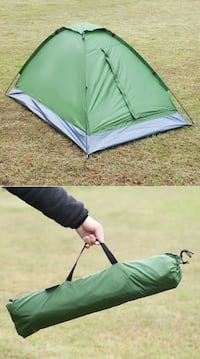 New 2 Person Camping Tent 79x48x38 Inches easy pop open design Whittier