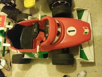 red and black ride on toy car off the movie cars 2