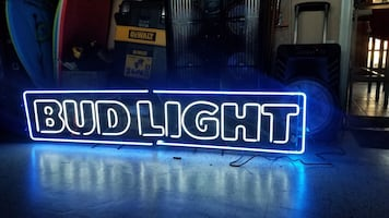 Budlight 6 foot wide Neon