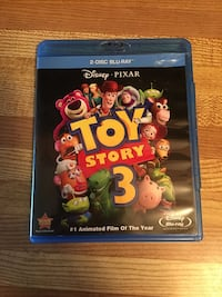 DVD +Blue-ray Toy Story 3