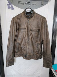 Lucky Brand Bonneville Leather Jacket Hanover, 21076