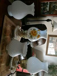 2 vintage student lamps and 2 misc. Globes Conway, 29526