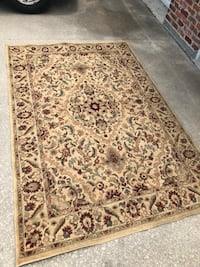 brown and black floral area rug Thibodaux, 70301