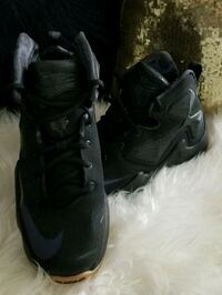 Like new all black Lebrons. Kids size 6.  Baytown, 77521