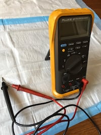 Used Fluke 87 Multimeter with holster and probes Rockville, 20850