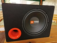720 watt Kenwood Amfi + 1000 watt JBL Subwoofer