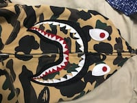 Authentic yellow Bape hoodie Mississauga, L5M 7X7