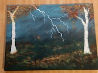 Autumn Storm Painting Toronto