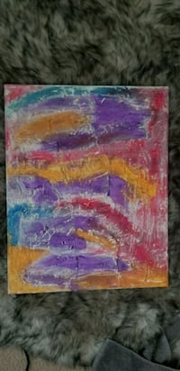 Colorful abstract painting Gulfport, 39503