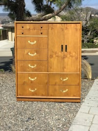 Tall Campaign Style Dresser / Storage Chest  Dana Point, 92629