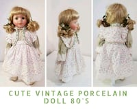 Cute Vintage Porcelain Doll 80'S Greater London, SW7 1NR