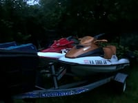 white and red personal watercraft Woodbridge, 22191