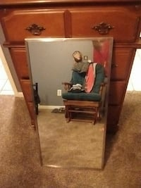 (2) 18in x 36in  chome finished mirror