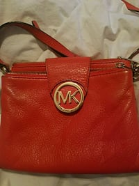 red Michael Kors leather wristlet Perris, 92570