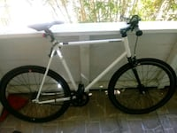 white and black hardtail bike West Palm Beach, 33405