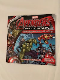 Avengers Age of Ultron- Avengers save the day! book Georgetown, L7G 6C5