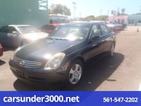 2003 INFINITI G35 lake worth, 33460
