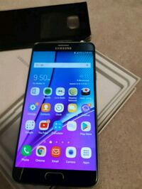 Unlocked Mint Samsung note 5 - 64gb with cover  Mississauga, L5M 8A2