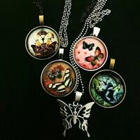 Obo butterfly pendant necklace  Morristown, 37813