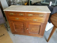 Antique Cherry with Marble top 69 km