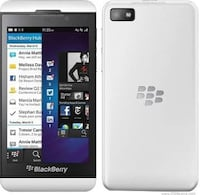 White BlackBerry Z10 Ottawa